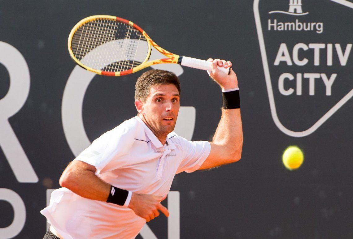 Delbonis cayó ante Zverev y se despidió del ATP de Hamburgo