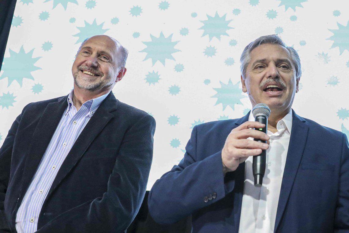 Alberto Fernández en Santa Fe: Bienvenidos sean los que quieran sumarse a hacer un cambio en la Argentina