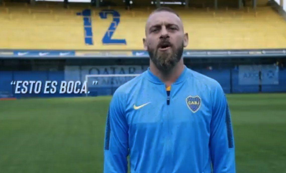Así juega Daniele De Rossi, el italiano que revolucionó al mundo Boca