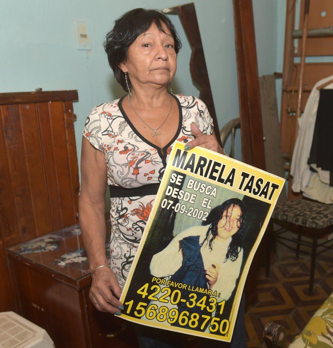 Luisa Olivera buscó durante años a su hija. Finalmente