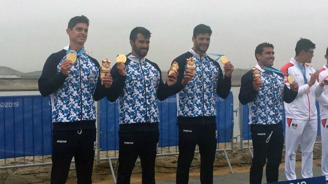 Juegos Panamericanos de Lima 2019: Argentina medalla de oro en canotaje