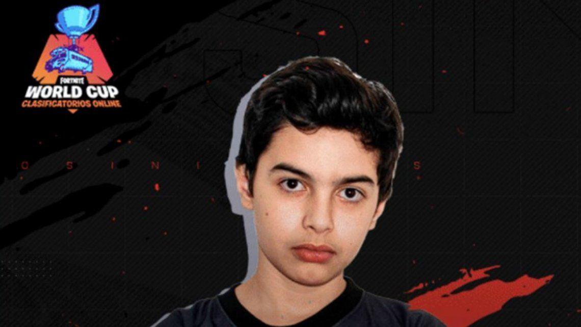 Fortnite: el argentino Thiago King Lapp, de 13 años, salió quinto en el Mundial y ganó 900 mil dólares