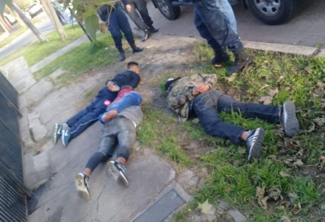 En imagen la detención de una banda de rompepuertas que en 2018 atemorizó a la localidad de Quilmes.