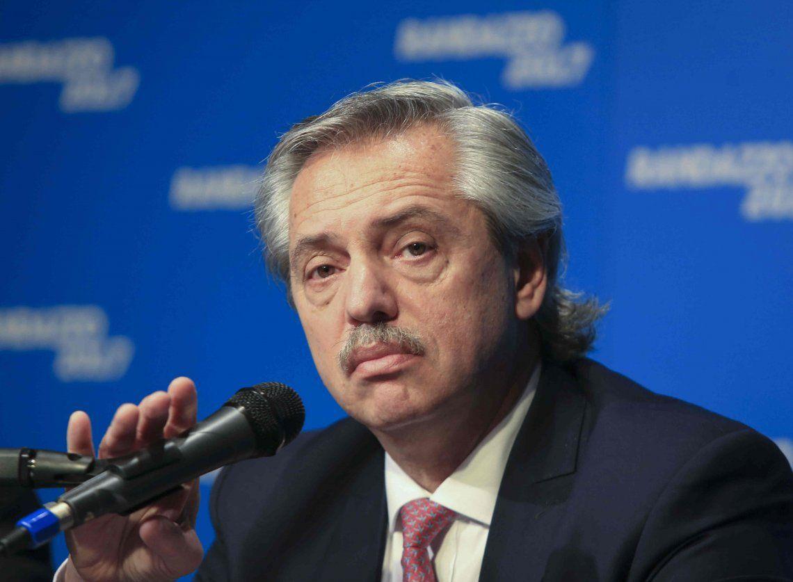 Alberto Fernández: El 10 de diciembre voy a aumentar las jubilaciones un 20%