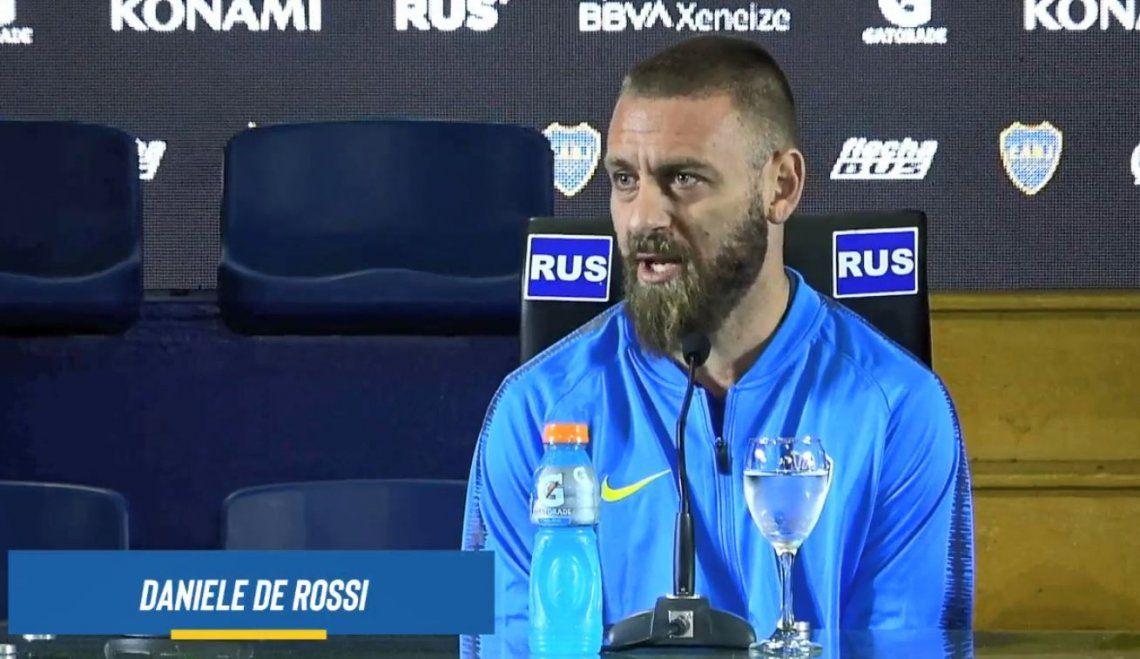 De Rossi fue a la Parrilla El Tano junto a otros jugadores de Boca y después del asado, ¡pidió salmón de postre!