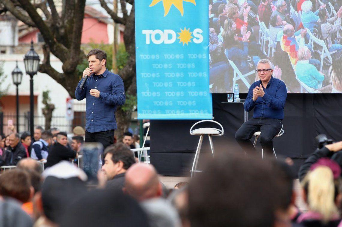 Axel Kicillof pidió el voto a la clase media, los comerciantes y Pymes