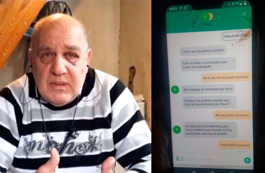 ¿Precarización laboral? Ernesto Floridia, el repartidor atropellado y su particular defensa a Glovo: Son las reglas de juego