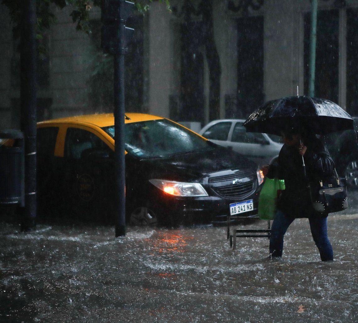 Jueves de lluvia aunque con chances de mejoras