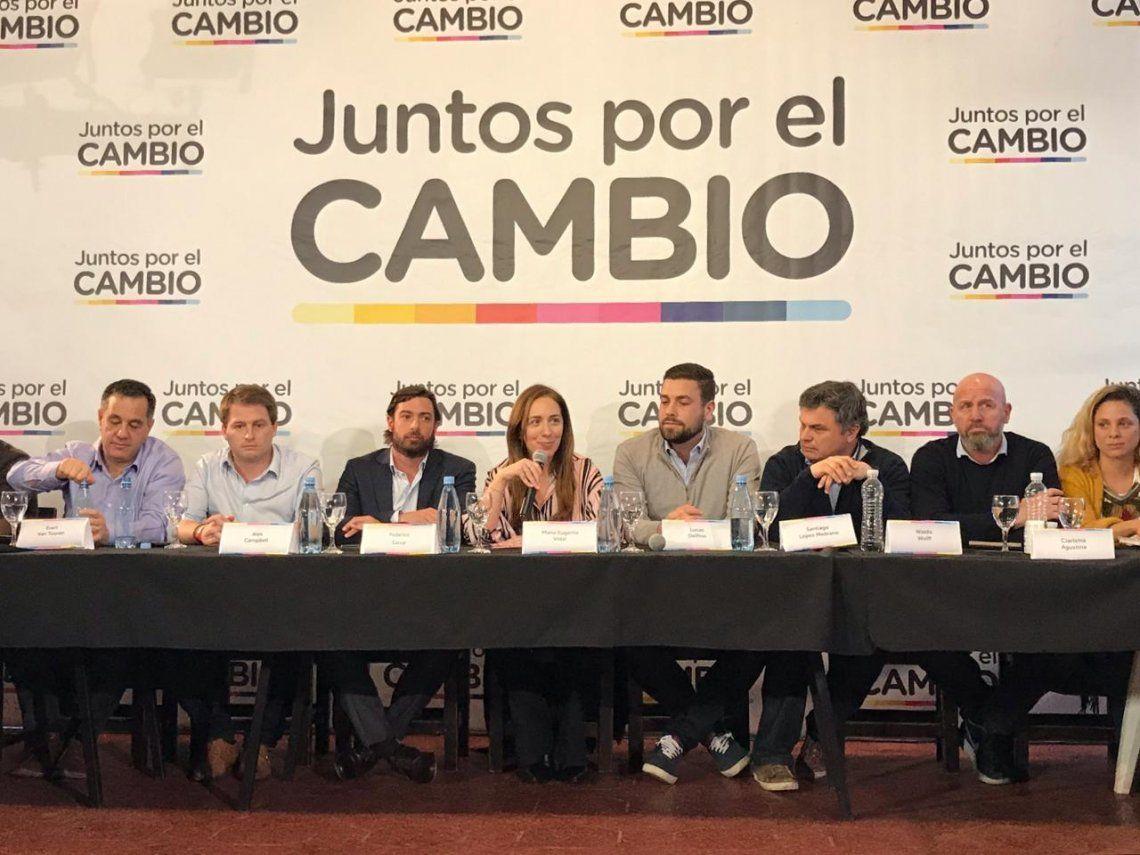 María Eugenia Vidal afirmó que en las PASO 2019 se define si se vuelve a lo trucho