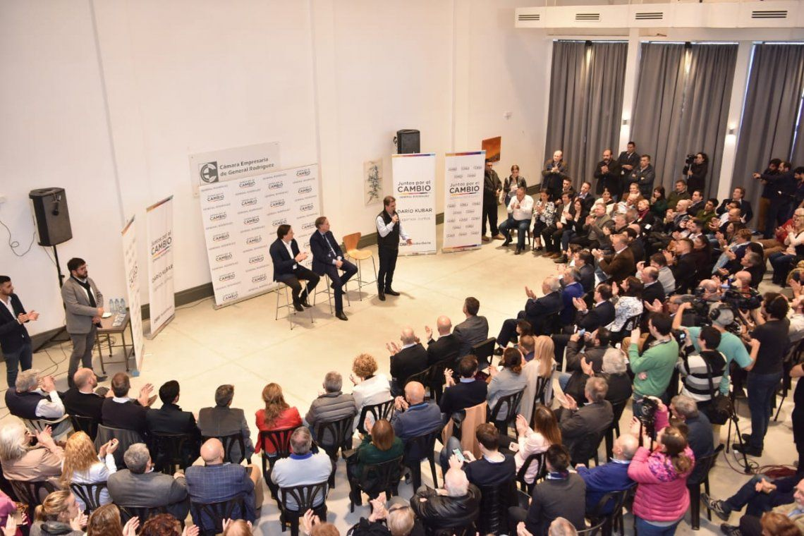Paso 2019   Pichetto y Ritondo se reunieron con empresarios en General Rodríguez