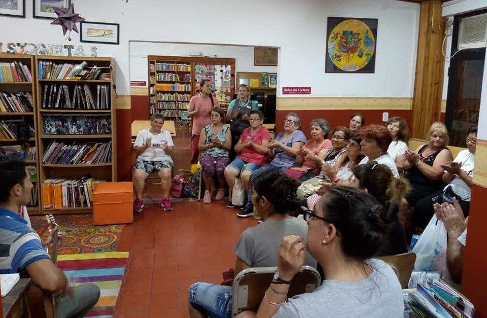La Biblioteca Popular de Virrey del Pino ofrece distintas actividades a los vecinos.