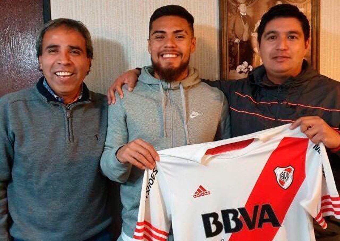 Paulo Díaz cruzó la cordillera y a la tarde lo presentarán como jugador de River