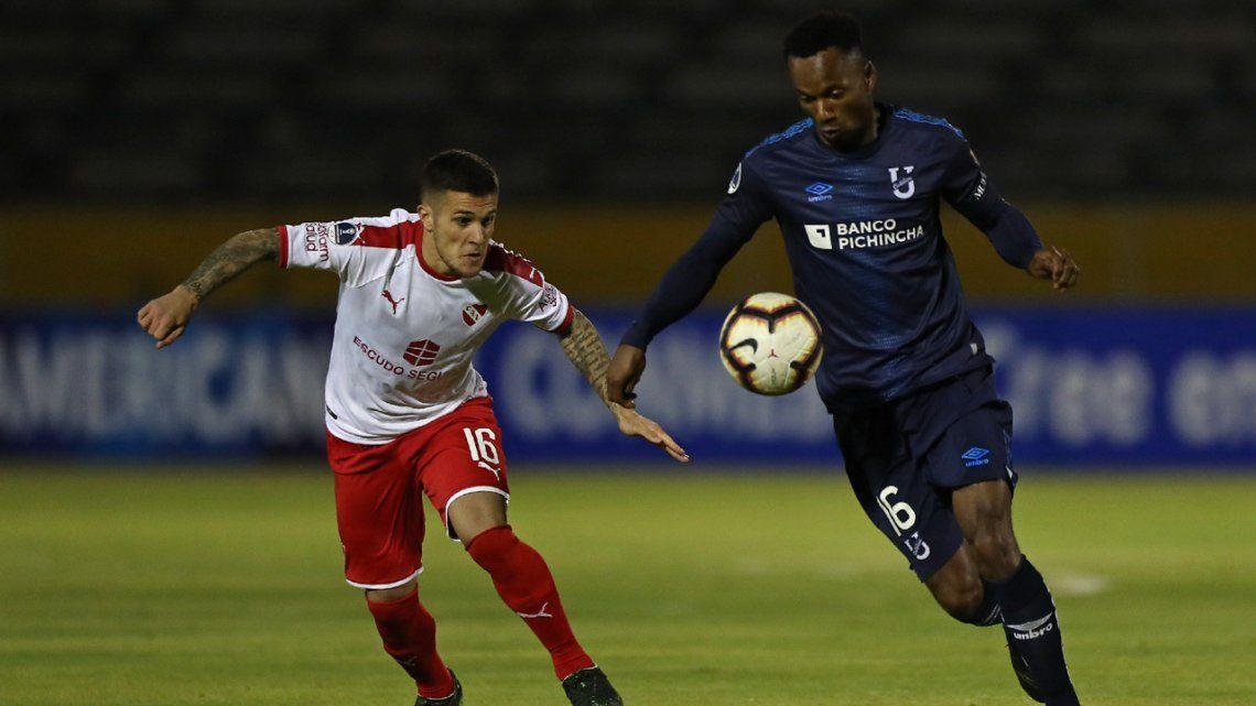 Independiente sufrió, cayó con la Universidad Católica de Ecuador, pero clasificó a los cuartos de final de la Sudamericana