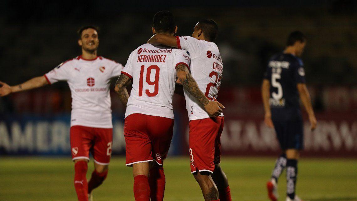 Independiente - Universidad Católica de Quito: los goles de Benitez, Vides, Hernández, Chalá y Amarilla