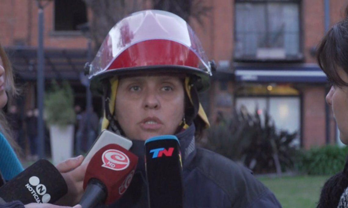 Puerto Madero: se incendió un departamento y cinco personas fueron hospitalizadas