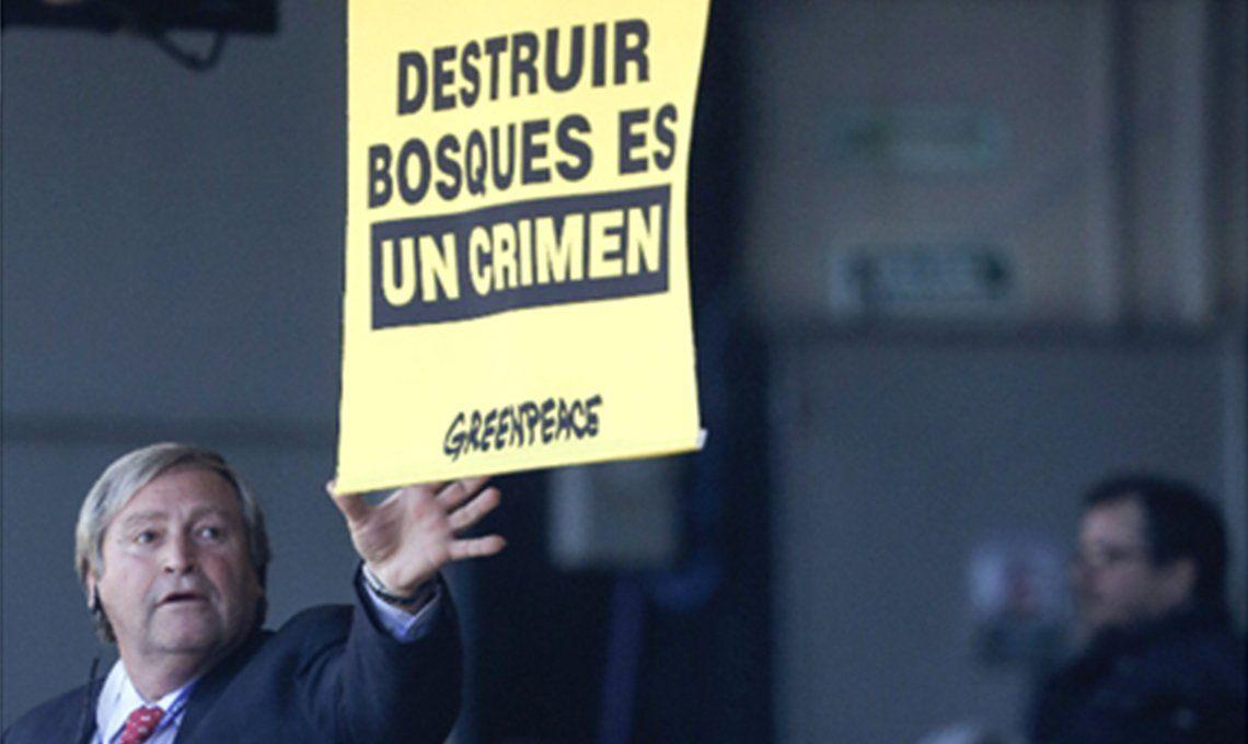 Bullrich denunció penalmente a Greenpeace por infiltrarse en La Rural
