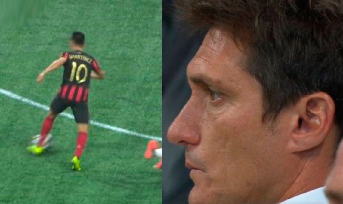 El Pity Martínez también enloquece a Guillermo Barros Schelotto en la MLS