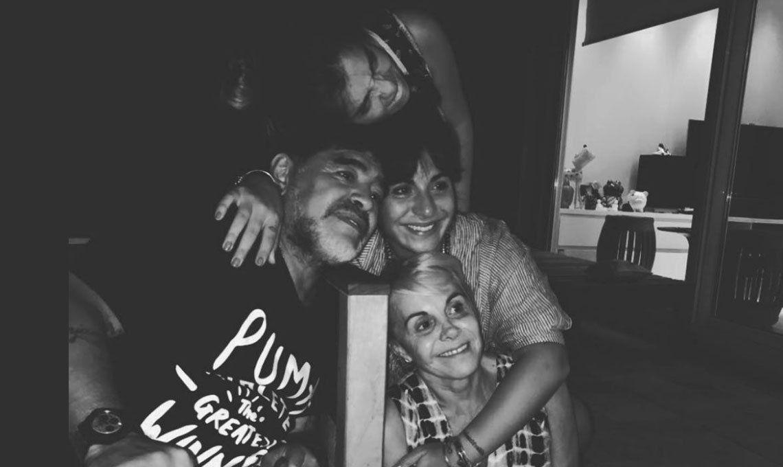 Gianinna Maradona recordó los tiempos felices junto a su padre