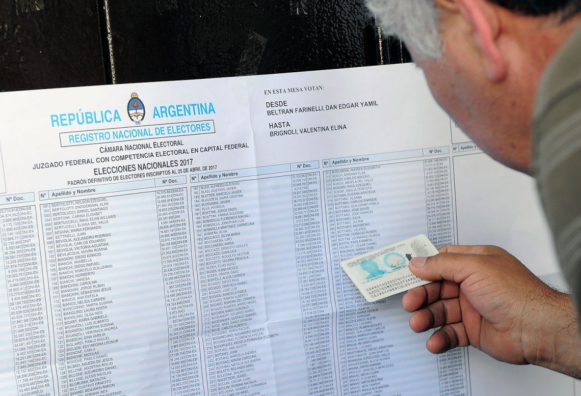 Elecciones 2019 | Cuáles son los documentos habilitados para votar el domingo