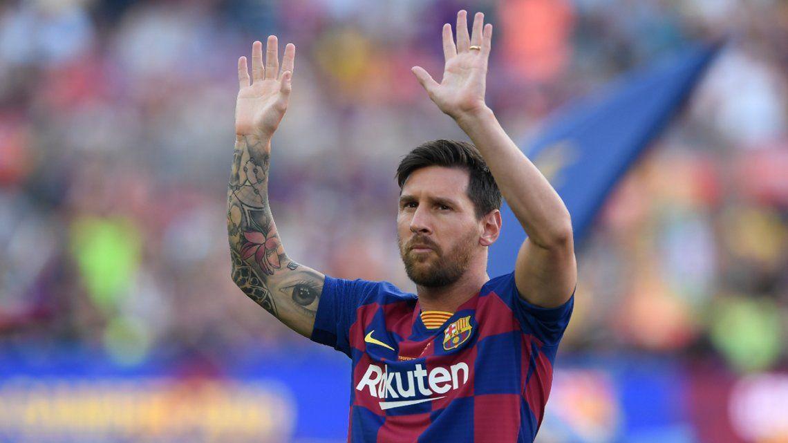 Mundial de Básquet de China 2019: el apasionado mensaje de Messi a la Selección Argentina