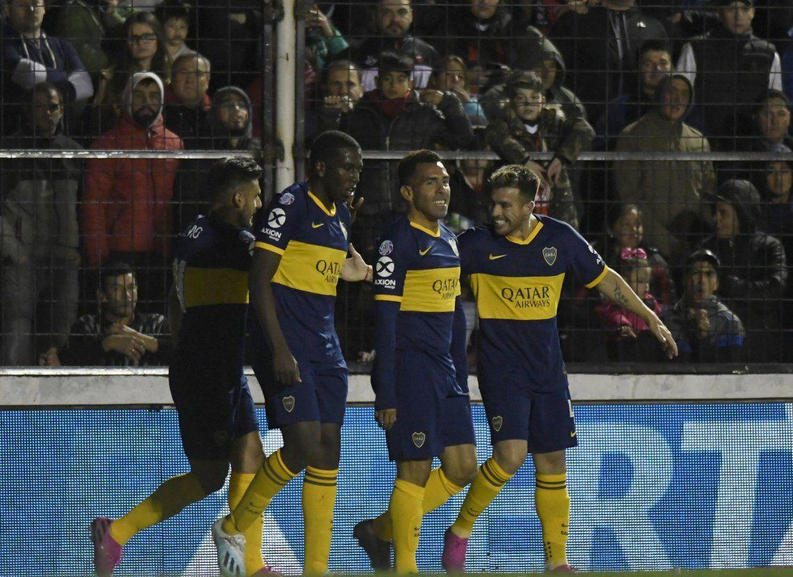 Boca dominó de principio a fin y le ganó bien a Patronato en Paraná