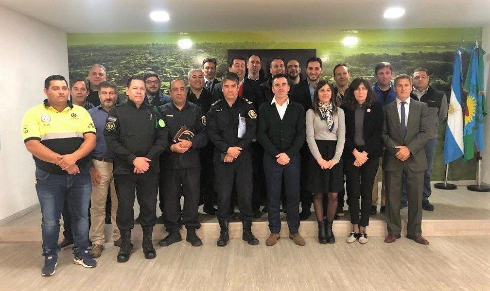 El encuentro se llevó a cabo en el Centro de Emergencias Quilmes Bombero Sánchez.