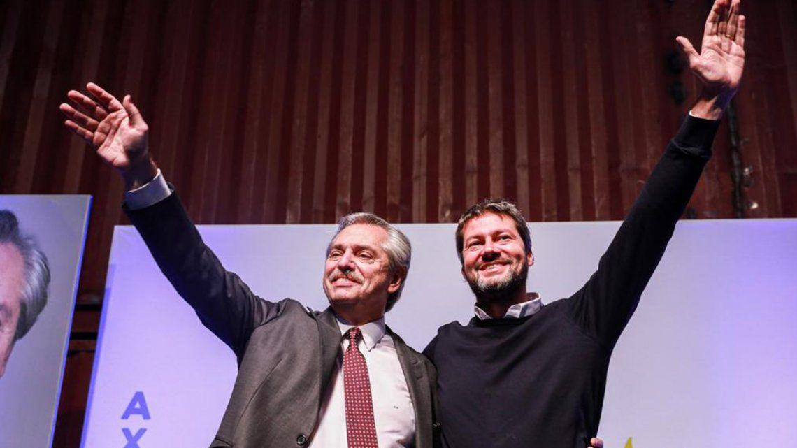 PASO 2019 | Alberto Fernández y Matías Lammens juntos en un acto para jóvenes en Chacarita