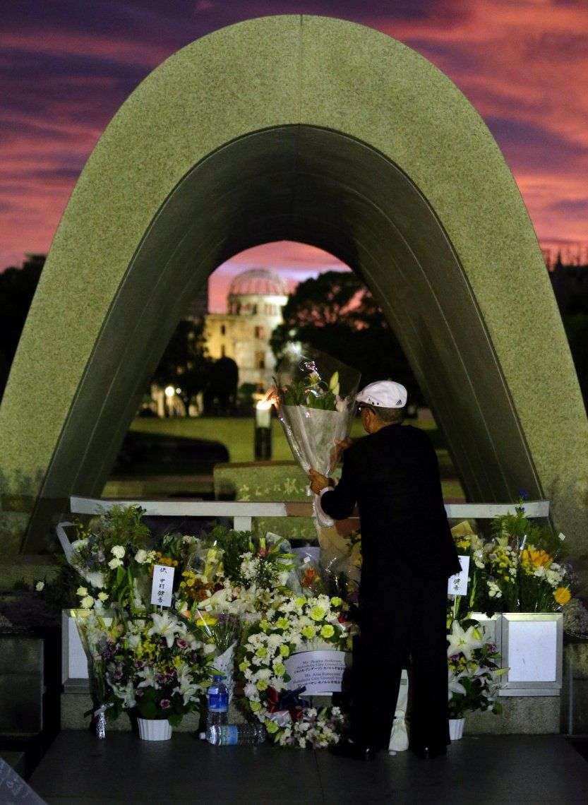 En fotos: homenajes a A 74 años de Hiroshima