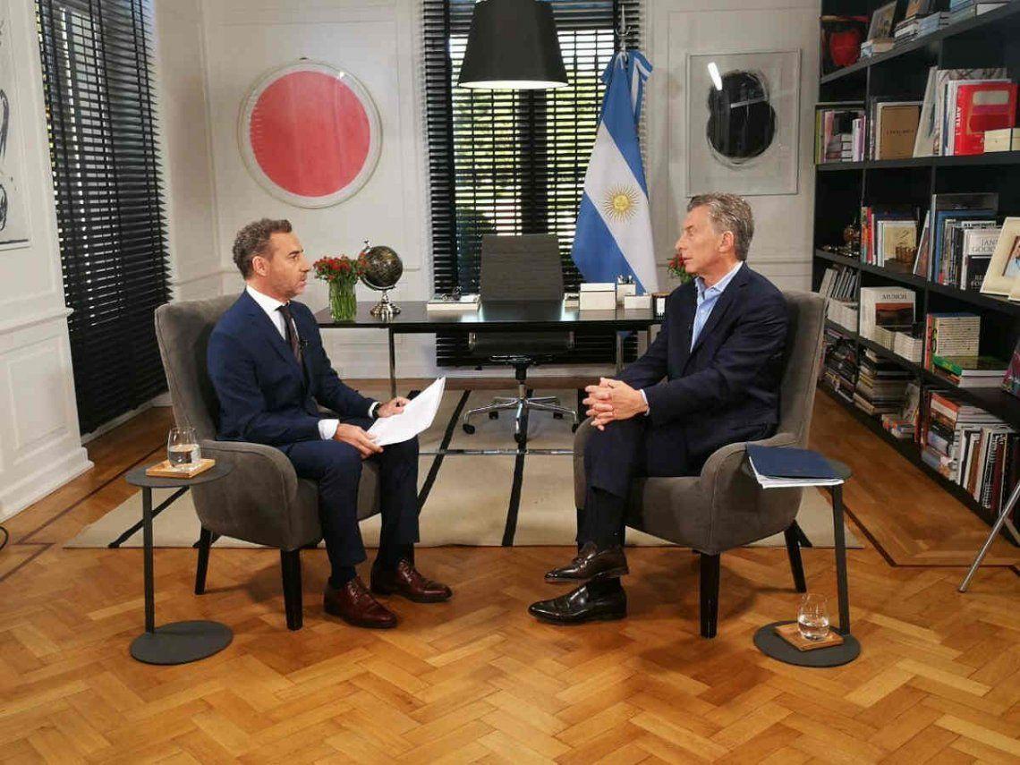Luis Majul llamó a votar por Mauricio Macri en su programa de radio