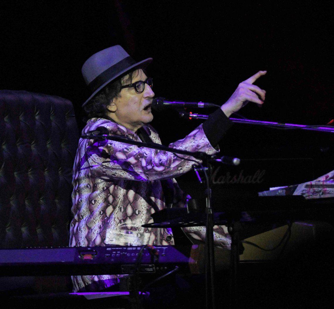 Después de 7 años Charly García vuelve a tocar en el Luna Park