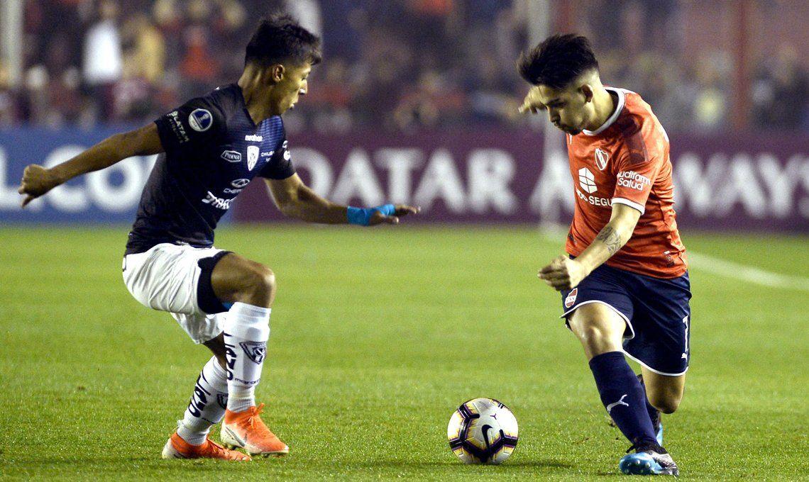 Independiente vs Independiente del Valle, por Copa Sudamericana: con el VAR en contra, el Rojo lo dio vuelta sobre el final