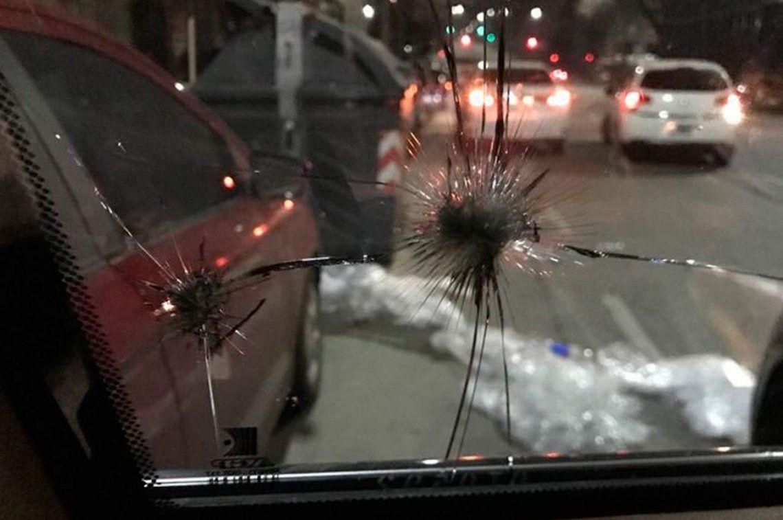 José Luis Espert fue atacado mientras viajaba en su camioneta blindada