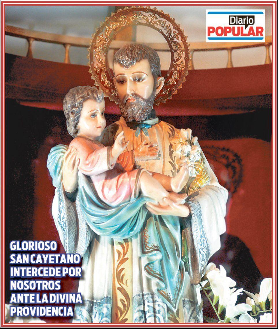 Póster | Glorioso San Cayetano, danos pan, paz y trabajo