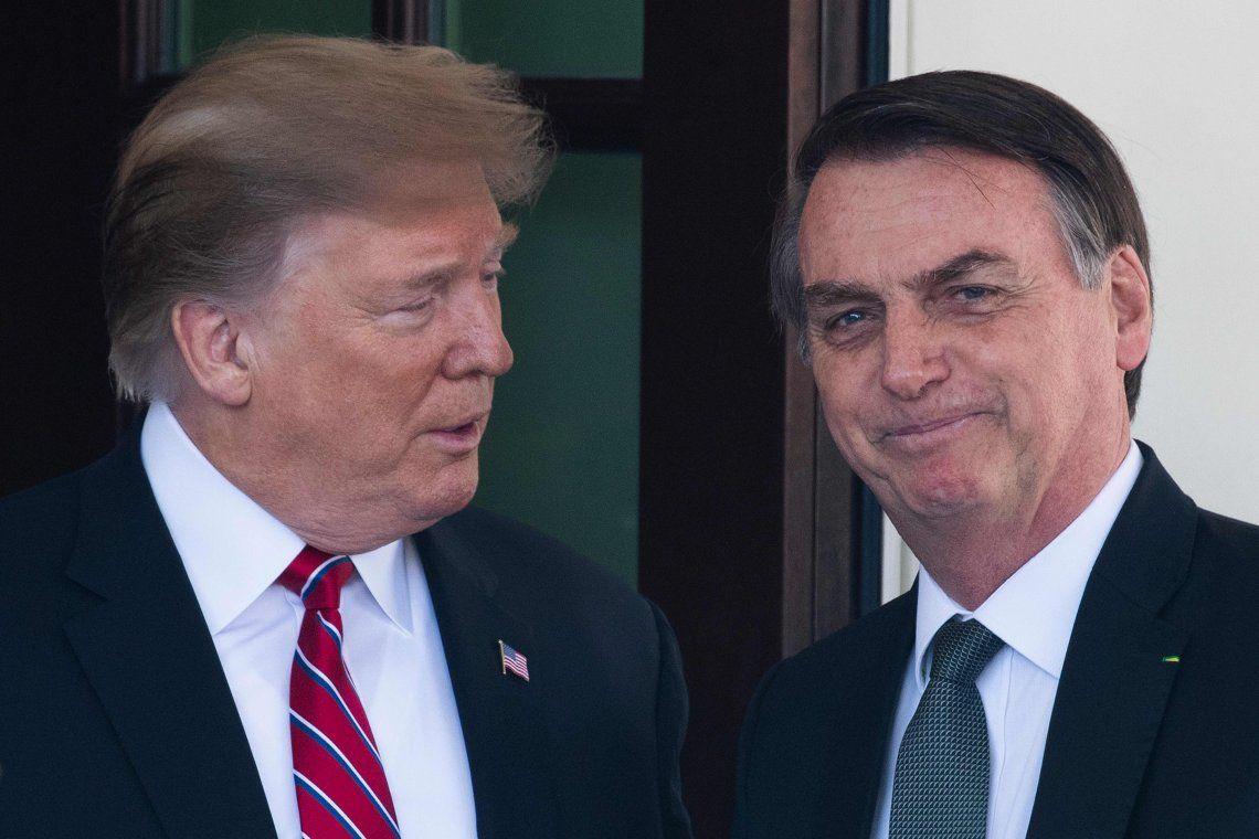 PASO 2019 | Bolsonaro le habría sugerido a Trump viajar a la Argentina para apoyar a Macri