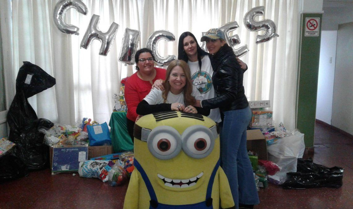 Por tercer año consecutivo se realiza la campaña de donación de juguetes.