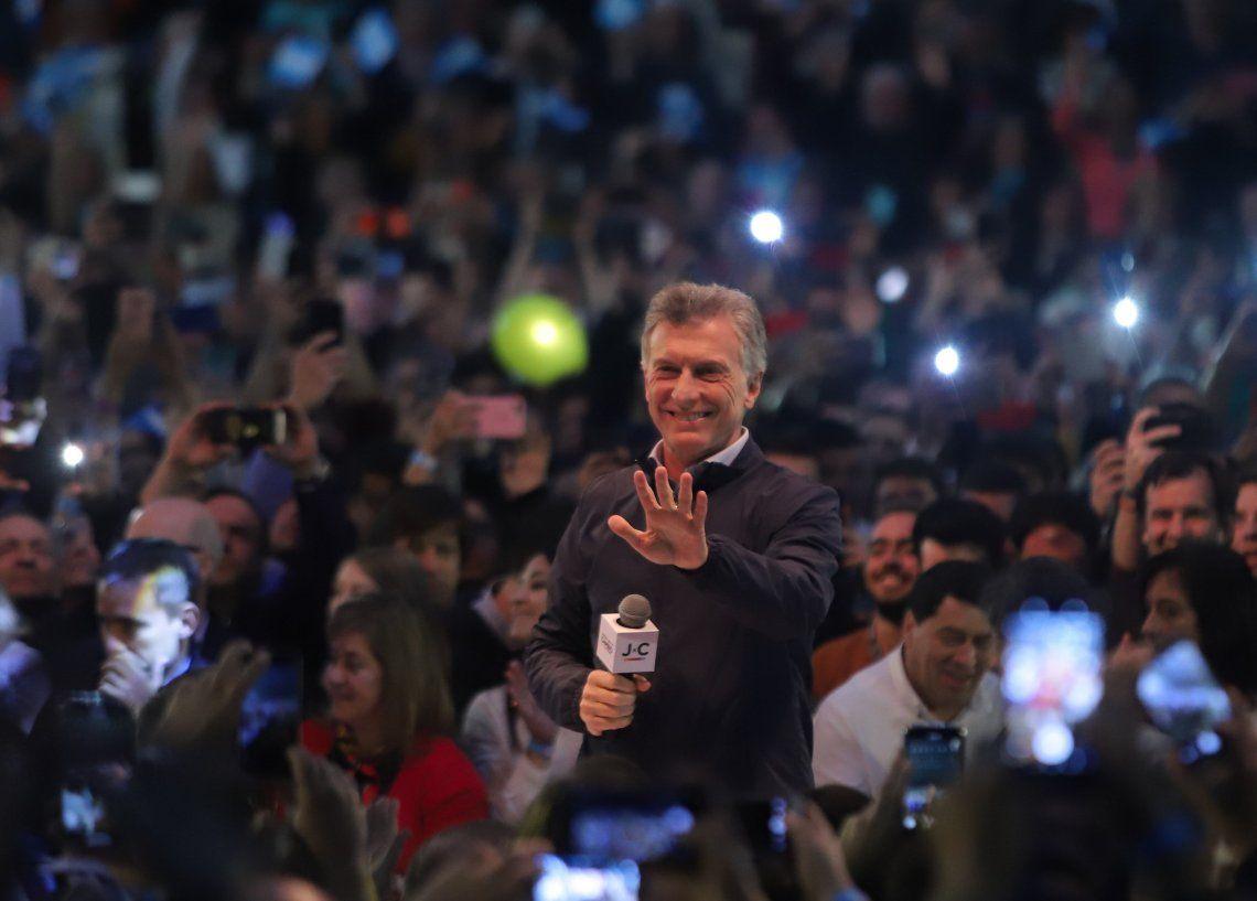 PASO 2019   Mauricio Macri en Córdoba: Este domingo se definen muchas cosas