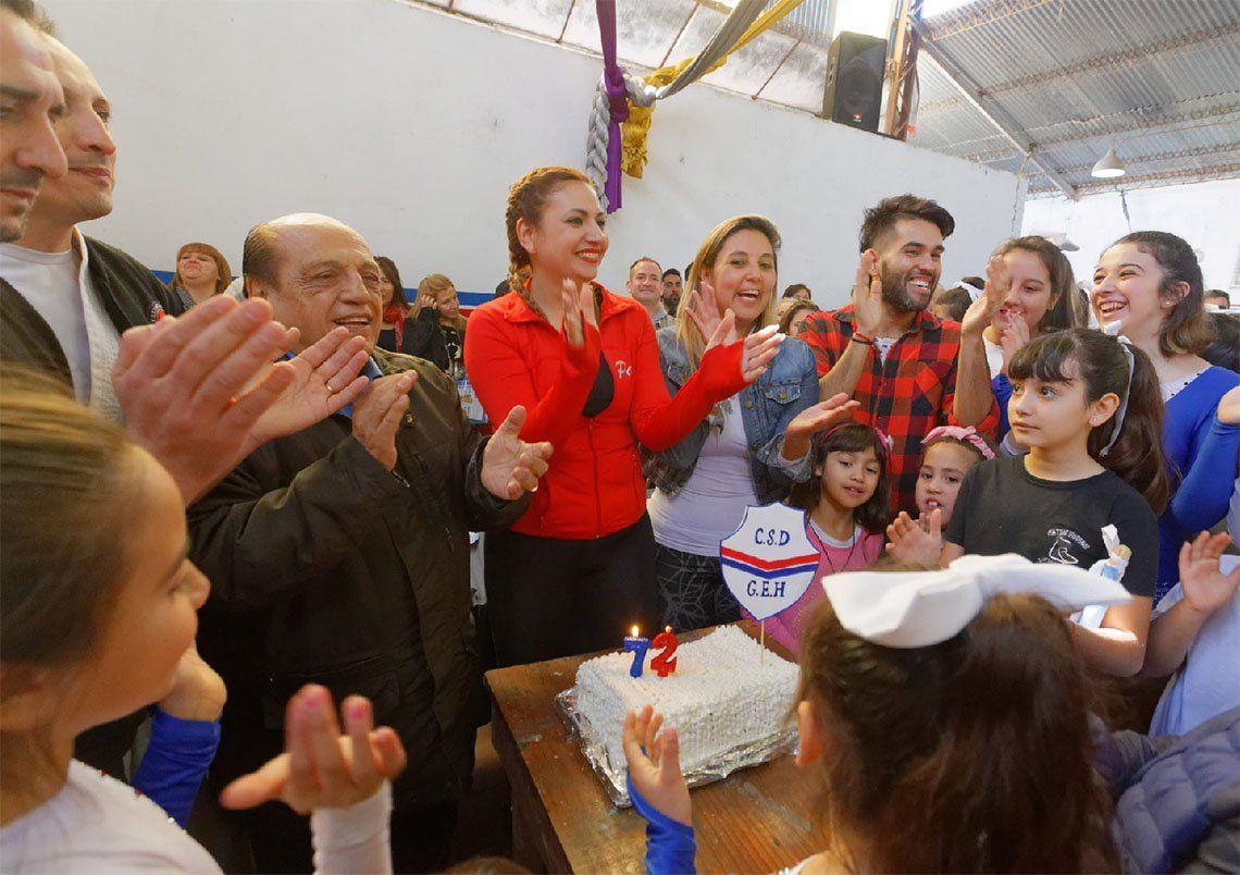 Berazategui: aniversario del Club Guillermo Hudson