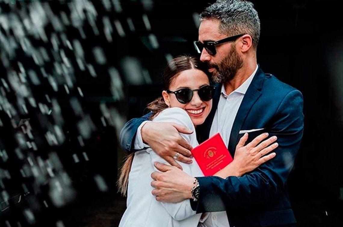 Al final, el Pollo Álvarez se casó en ceremonia íntima con Teffi Russo