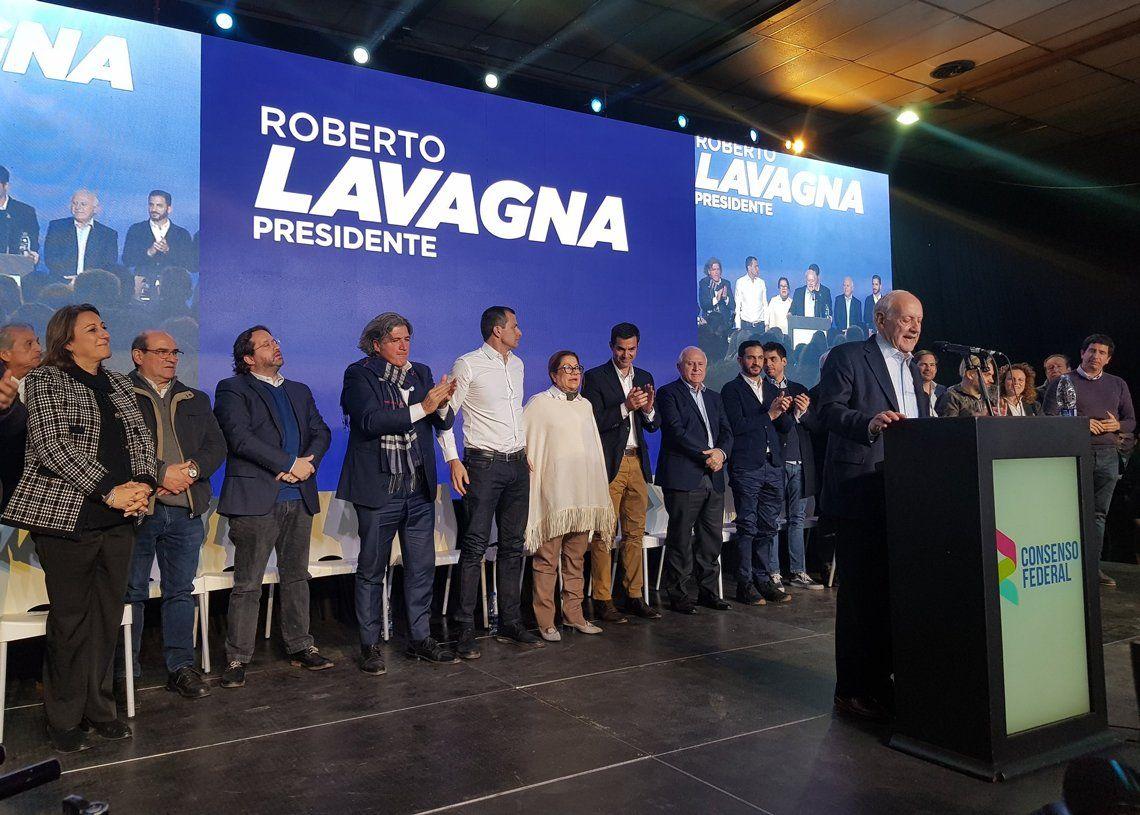 PASO 2019 | Lavagna cerró su campaña: El país está en una recesión muy dura que le saca lágrimas al pueblo