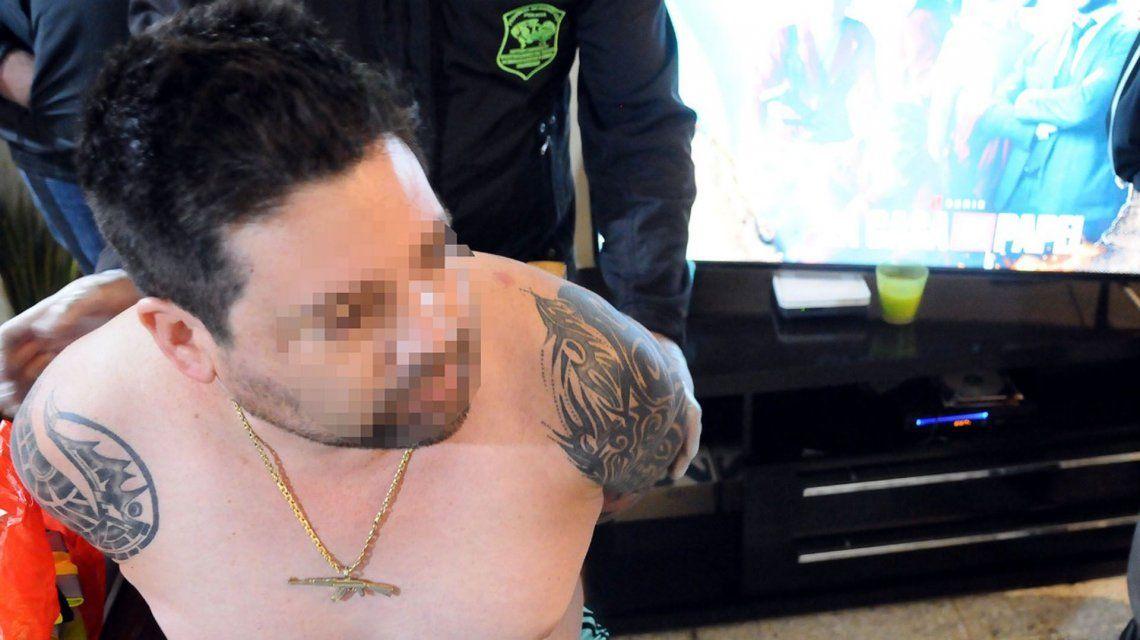 Detuvieron al patrón de Moreno, el narco que se creía Pablo Escobar