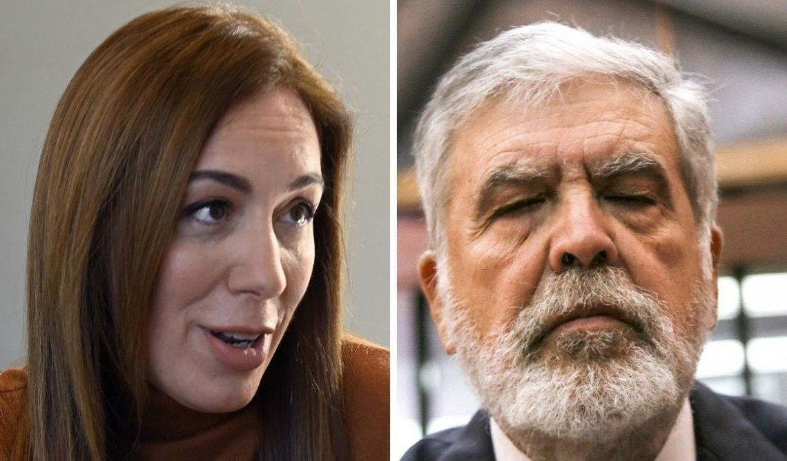 PASO 2019   María Eugenia Vidal le respondió a Julio De Vido: Es unaforma de hacer política que considera que la agresión y el machismo pueden ser parte
