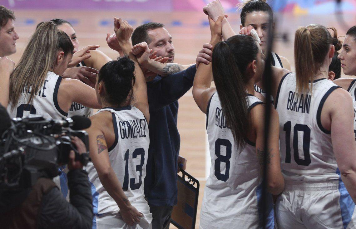 Desgarrador: la emoción de Las Gigantes con el himno tras la eliminación en los Juegos Panamericanos de Lima