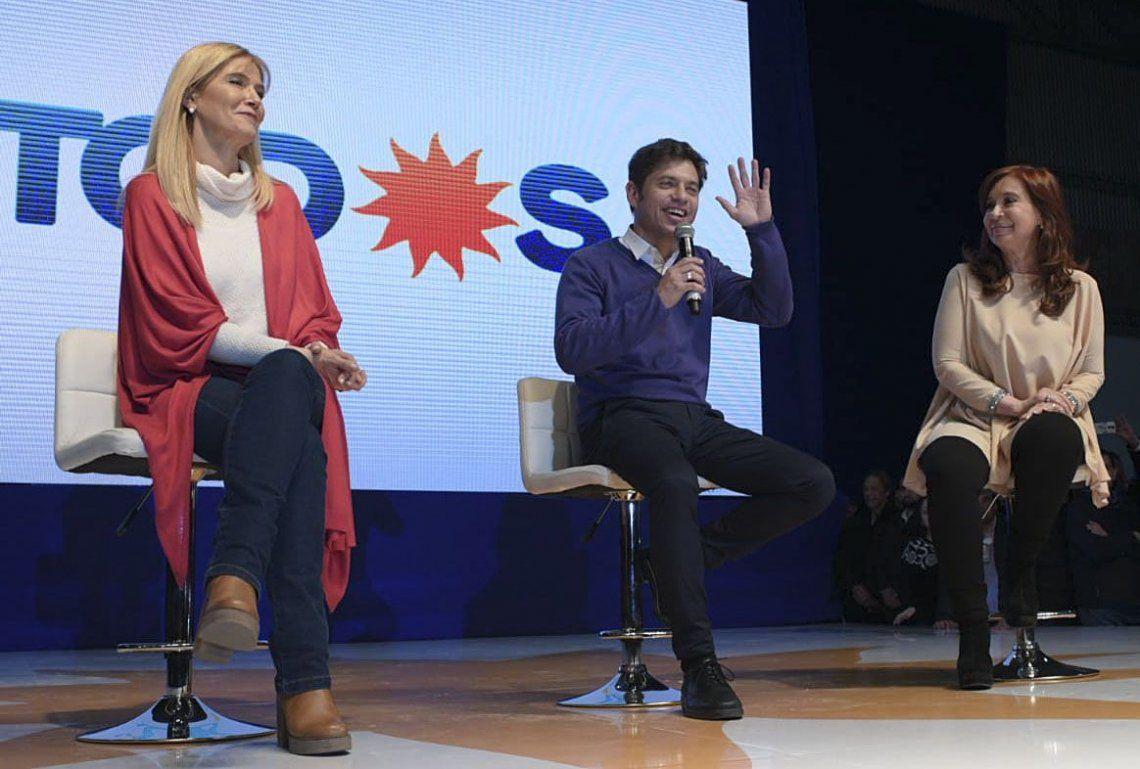 PASO 2019 | Axel Kicillof cerró su campaña en Merlo: Menos carajo y más trabajo es lo que hace falta