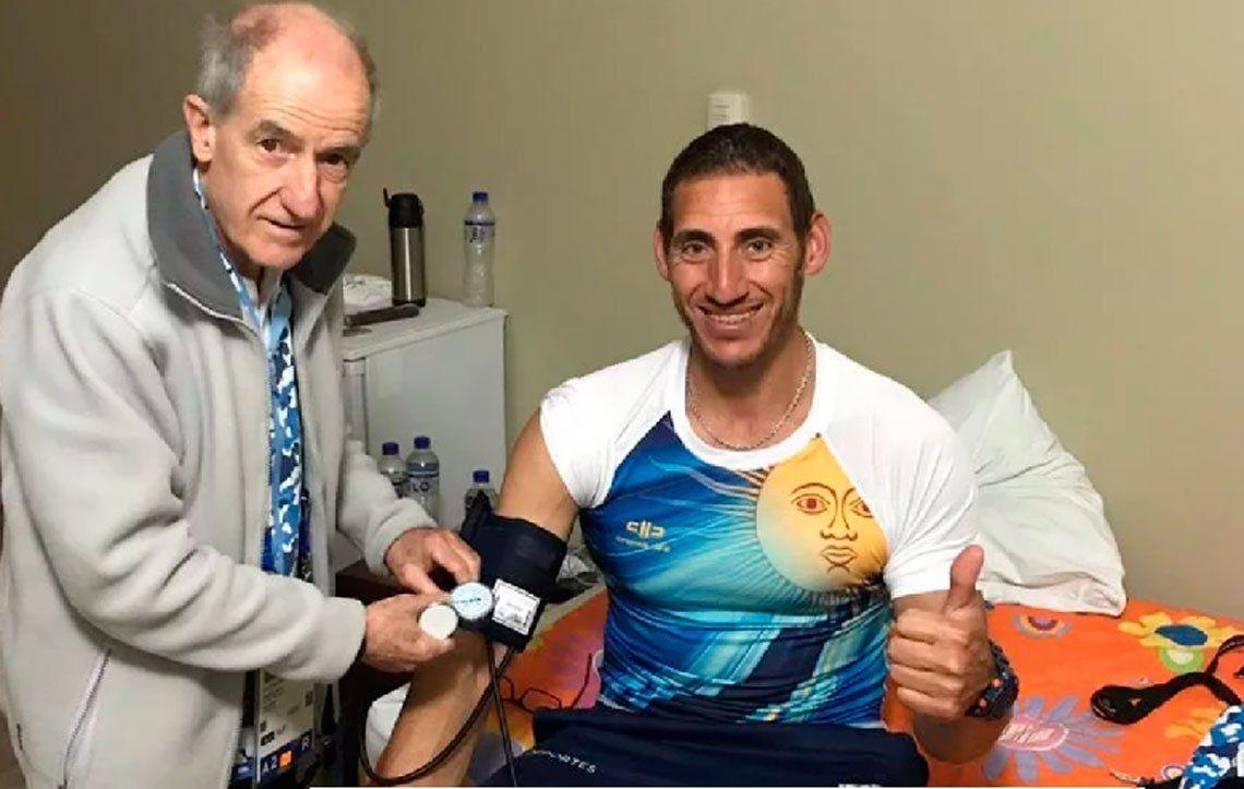 Deportistas argentinos intoxicados en los Juegos Olímpicos
