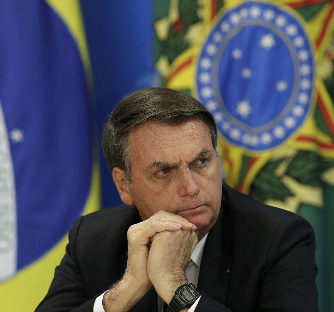 El presidente Bolsonaro