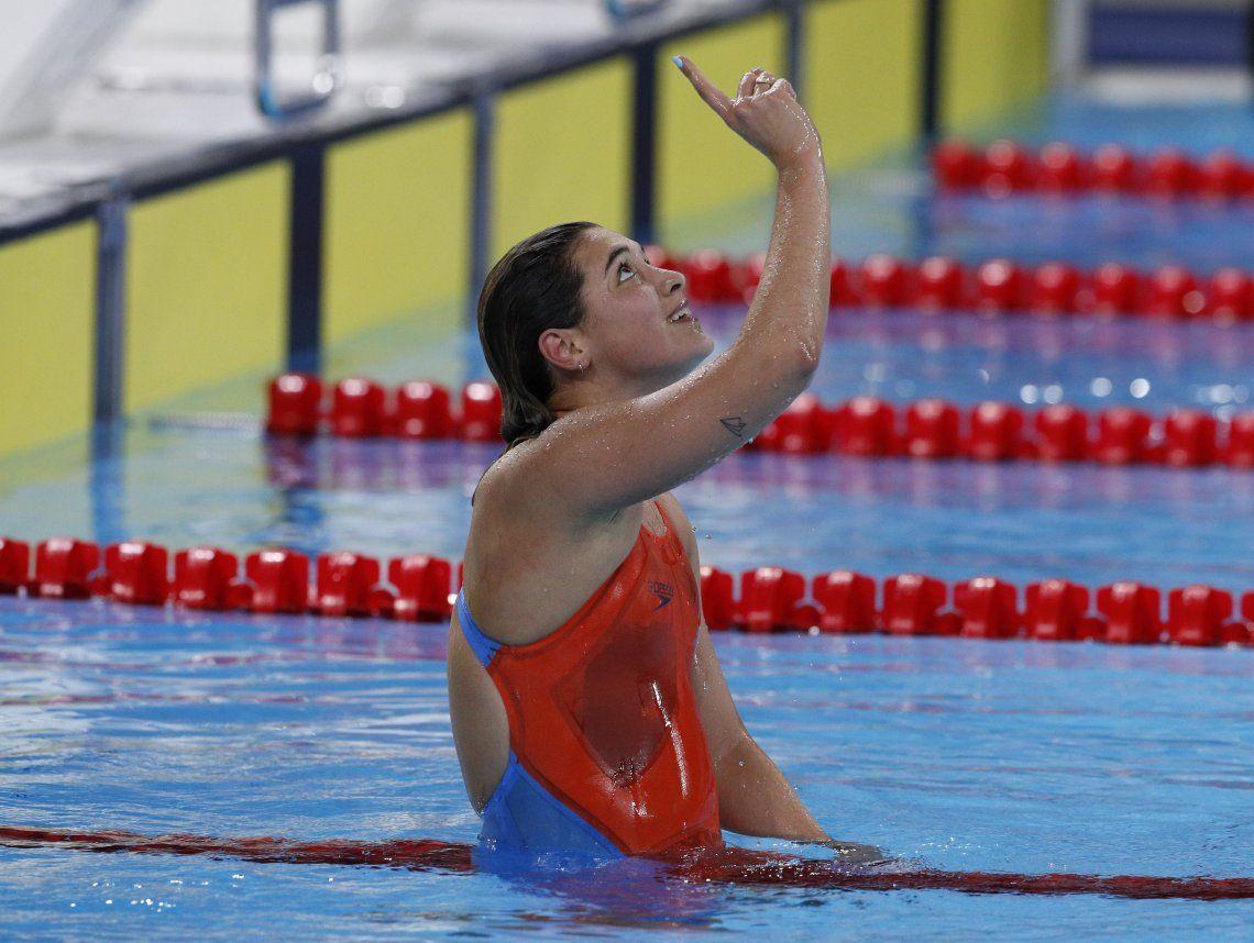 Sirena dorada: Delfina Pignatiello ganó su tercer título panamericano en una carrera para el infarto