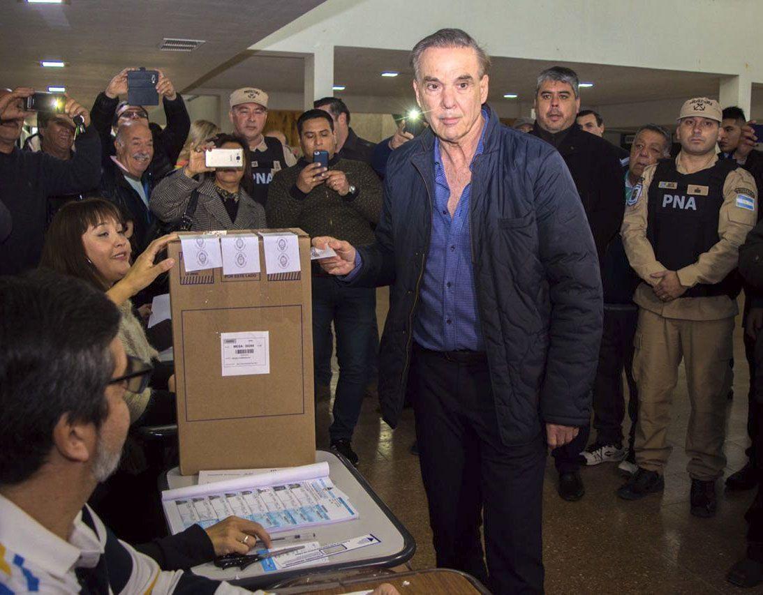 PASO 2019 | Miguel Ángel Pichetto: Hoy hablan los ciudadanos que votan, estoy con mucha expectativa