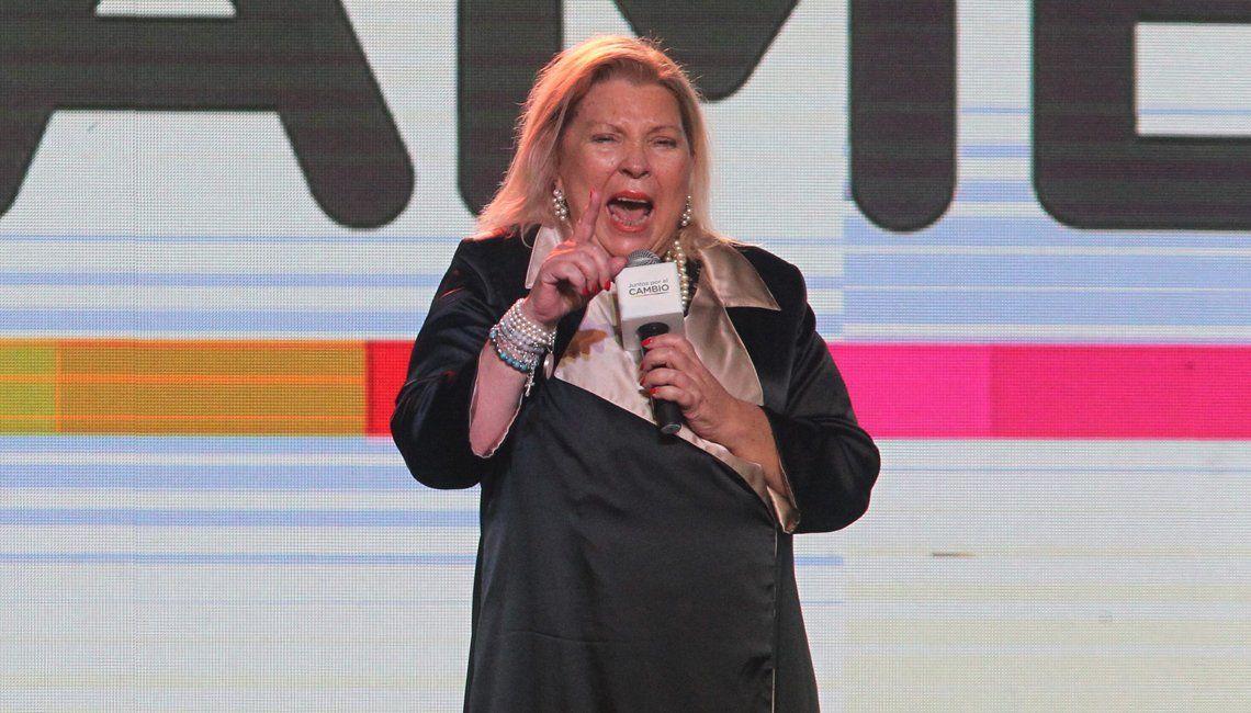 PASO 2019 | Elisa Carrió: La única certeza es que la república democrática ganará por más del 50 por ciento en octubre