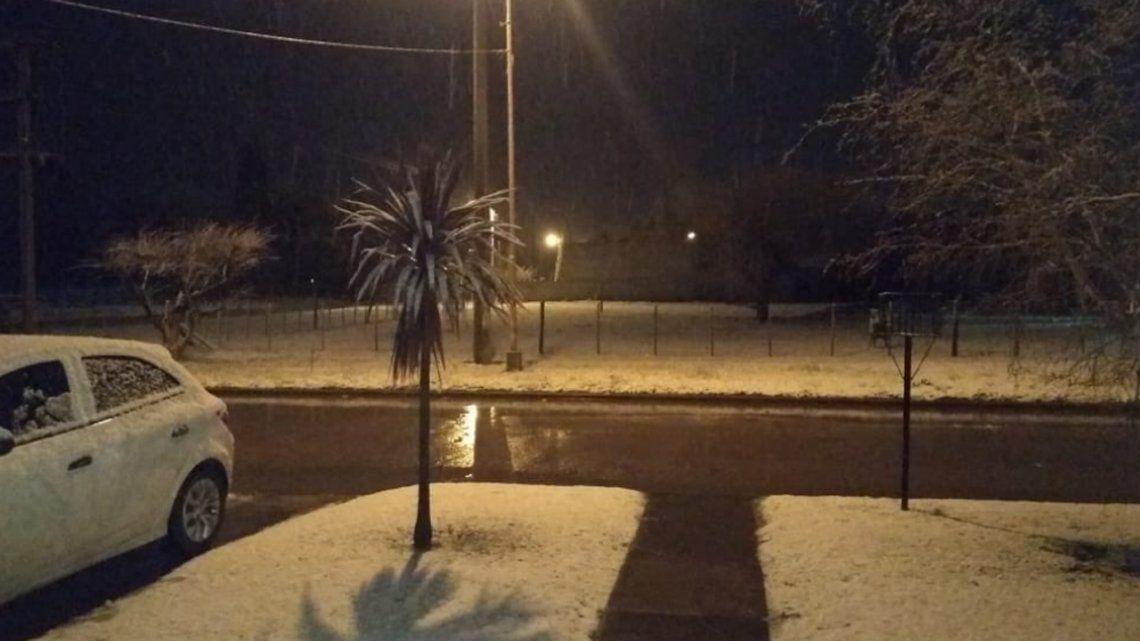Ola de frío en Buenos Aires: nevó en Mar del Plata, Balcarce, Necochea y Sierra de los Padres