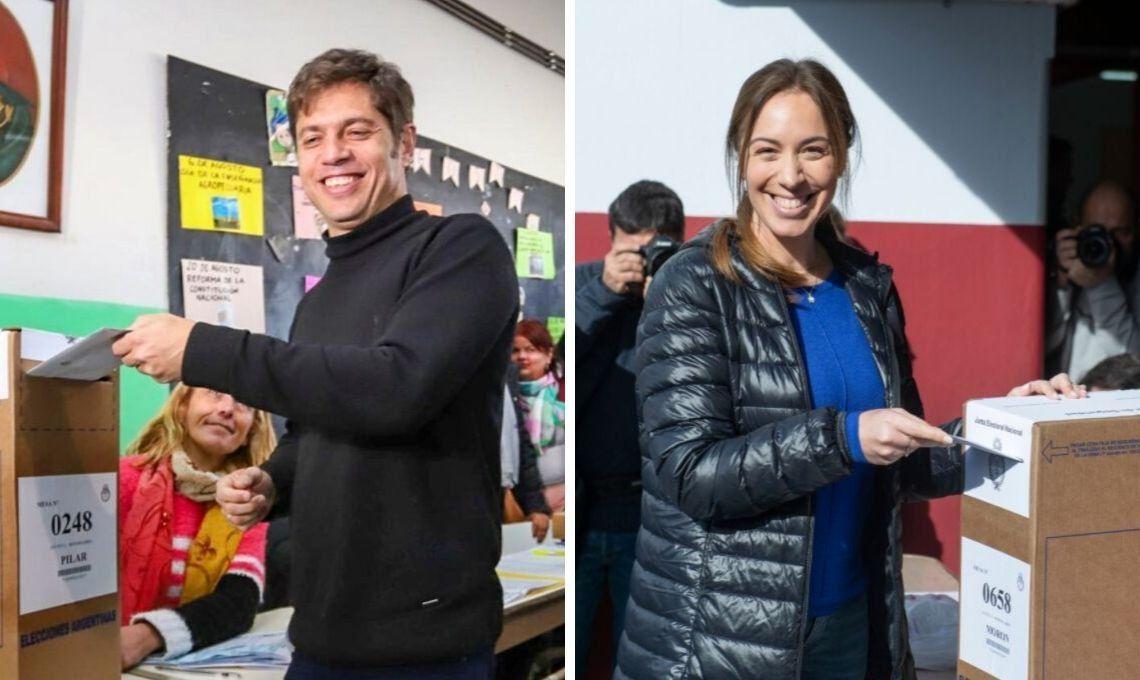 PASO 2019 en la Provincia de Buenos Aires: en el recuento definitivo de votos Axel Kicillof obtuvo el 52% y María Eugenia Vidal el 34%